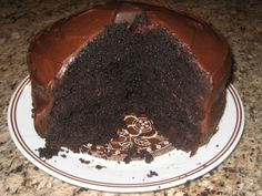 Moist And Rich Homemade Chocolate Cake Recipe - Food.com: Food.com
