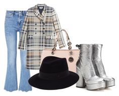 """""""Untitled #2134"""" by misnik ❤ liked on Polyvore featuring MiH, Paul & Joe, MICHAEL Michael Kors, Marc Jacobs, Maison Michel, women's clothing, women, female, woman and misses"""