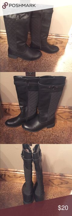 Tall Black Boots Black Boots french kiss Shoes Winter & Rain Boots