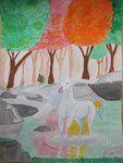 unicorn in the fall..done a few years ago