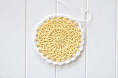 crochet mandala tutorial