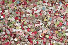 Vintage Polka Dot confetti
