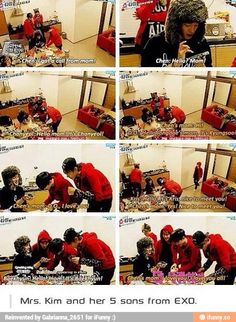Love EXO showtime so much. They were so adorable. So wish they could do more.