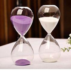 Handblåsta Timglas 30 minuter