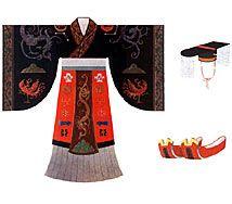 Vestidura empleada por la Etnía Han en sus mujeres.