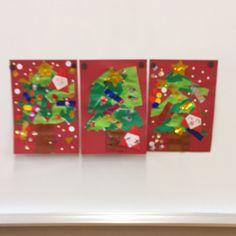 【アプリ投稿】クリスマスツリー | みんなのタネ | あそびのタネNo.1[ほいくる]保育や子育てに繋がる遊び情報サイト Kids Christmas, Art For Kids, Logos, Winter, Frame, Crafts, Decor, Xmas, Art For Toddlers