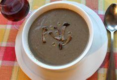 Food Lust People Love: Wild Mushroom Soup for #SundaySupper