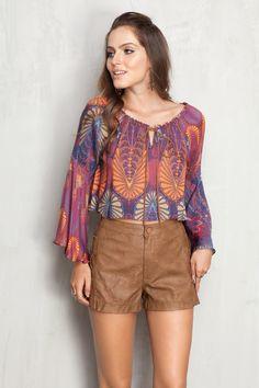 short trançado lateral | Dress to
