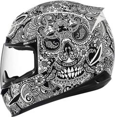 My next helmet!  Love it!  Icon helmet