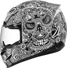 My next helmet!  Love it!  Icon helmet