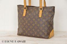 Louis Vuitton Monogram Cabas Piano Shoulder Bag M51148