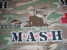 MASH 4077th King size Lightweight Bedspread  by bizarrebaubles, $50.00