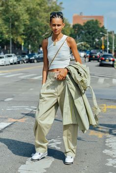 Tommy Ton, Models Off Duty, Spring Fashion, Parachute Pants, Harem Pants, Spring Style, Archive, Fashion Spring, Harem Trousers