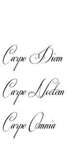 carpe noctem tattoo - Google Search