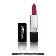 BellaPierre Mineral Luxurious Lipstick in Burlesque Fuchsia Pink 0123 fl oz * You can get additional details at the image link.