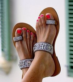 Serena Sandals by aspiga