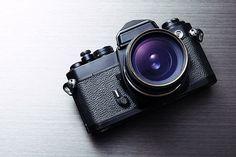 SLR camera with lens pointing forward Slr Camera, Binoculars, Lens, Photography, Photograph, Fotografie, Klance, Photoshoot, Lentils