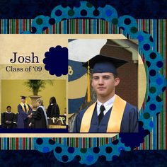 Josh's graduation - Scrapbook.com