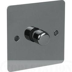 Interrupteur Variateur Black Nickel 250 Watt