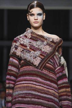MFW | Antonio Marras F/W '17 | lace embellishments