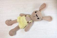 PATRÓN: Patrón de bunny Bunny-conejo-Amigurumi por Anatillea