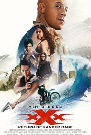 xXx: Return of Xander Cage (2017): A movie made with international money specifically to capture that international box office and it will. Congrats.