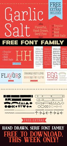 FREE FONT FAMILY / h