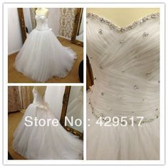 2014  Real sample  Beauty  elie saab  Bodice  Beaded  Tail  Puffy  Sexy  Tulle  Bridal  Wedding  Dress  Manufacturer