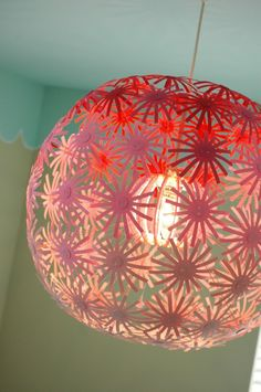 Flower Chandelier DIY Tutorial - Things To Do Yourself - DIY