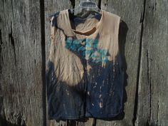 One of a kind bleached and destroyed t shirt Ricks by LoganBrook