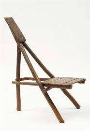"I'd call it an 'Easel Chair' African chair, possibly late century Wood. Signed in pencil underneath ""Koffi / Kouadio. Wooden Furniture, Home Furniture, Furniture Design, African Furniture, Afrique Art, Campaign Furniture, Love Chair, Deco Design, Take A Seat"