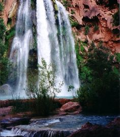 """""""I have been to several countries in my life, but the most beautiful place in the world is closer than you think. Havasu Falls in the Grand Canyon area and the amazing turquoise waters below the falls. A must see on anyone's bucket list!"""""""