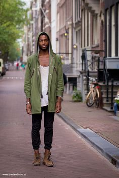 olive, joggers, summertime rain. men's fashion, men's style