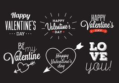 Valentine's Day Vector 265526 -   Collection of typographic Valentine's day illustrations. Perfect for your love project.  - https://www.welovesolo.com/valentines-day-vector-3/?utm_source=PN&utm_medium=weloveso80%40gmail.com&utm_campaign=SNAP%2Bfrom%2BWeLoveSoLo