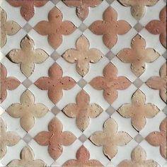 ideas kitchen tile backsplash arabesque terra cotta for 2019 Backsplash Arabesque, Terracotta Floor, Floor Patterns, Tile Design, Kitchen Backsplash, Mosaic Tiles, Cool Kitchens, Decoration, Tile Floor
