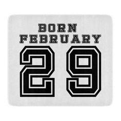 Born February 29 Cutting Board