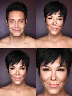 Celeb Makeup, Paolo Ballesteros This Makeup Artist Wows Again by Transforming Into Both Caitlyn and Kris Jenner—See the Insane Pics! Kardashian Family, Kardashian Jenner, Britney Spears, Calgary, Paolo Ballesteros, Kris Jenner Style, Believe, Male Makeup, Makeup Man