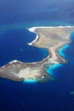 Marshall Islands near Majuro Airport