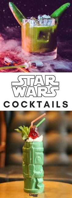 It has been 40 years since the world first laid eyes on Luke, Leia, Solo, Chewie and their merry droid friends. While you probably wouldn't be super stoked at the quality of drinks served up at Chalmun's Cantina in Mos Eisley on planet Tatooine, we have found a bounty hunter's breadth of Jedi-worthy drinks to keep your spirited adventures from dipping into the Dark Side.