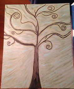 Swing of Life 16x20 Canvas Acrylic Hand Painted Original Painting Signed by Artist  on Etsy, $50.00