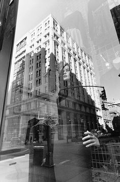 Lee Friedlander - New York City, 2011 Urban Photography, Amazing Photography, Street Photography, Landscape Photography, Double Exposition, Urban Landscape, Abstract Landscape, Black N White Images, Black And White