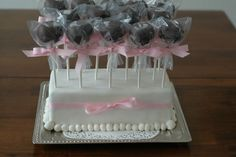 I haven't tried to make cake pops yet, but this will be the first place I go to find a recipe!