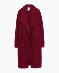 WOOL COAT - Zara