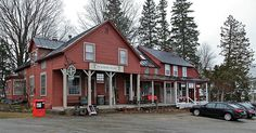 """The Spitfire Grill in Peacham, Vermont, where the aptly titled movie """"The Spitfire Grill"""" was filmed."""