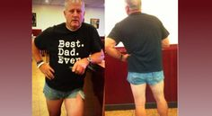 Father Wears Short Shorts to Teach Modesty