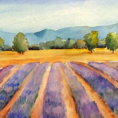 """Watercolors in France's Provence Region Watercolor Workshop, Gourmet Food, Local Wine and Exciting Destinations with Jo Williams What is """"A Week in Provence-Watercolor Experience"""" with Artistic Gourmet Adventures? """"This past summer, my daughter and I joined Jo Williams on the trip of a lifetime, the Artistic Gourmet Adventures Watercolor trip to Provence, France. Each day, we painted watercolors …"""