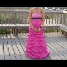 Prom dress Size 5 Blonde Nights Prom dress Size 5 worn once paid $300 will take $100 Dresses