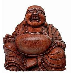 This laughing buddha will watch over my new Victoria Plumb bathroom.