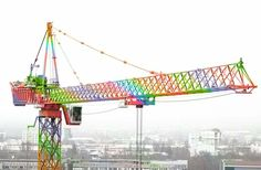 Rainbowe Tower Crane More Picture Videos on our channel