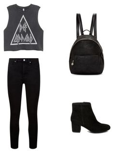 """""""Date with Calum"""" by vintagegirl8798 on Polyvore featuring Paige Denim, Steve Madden and STELLA McCARTNEY"""